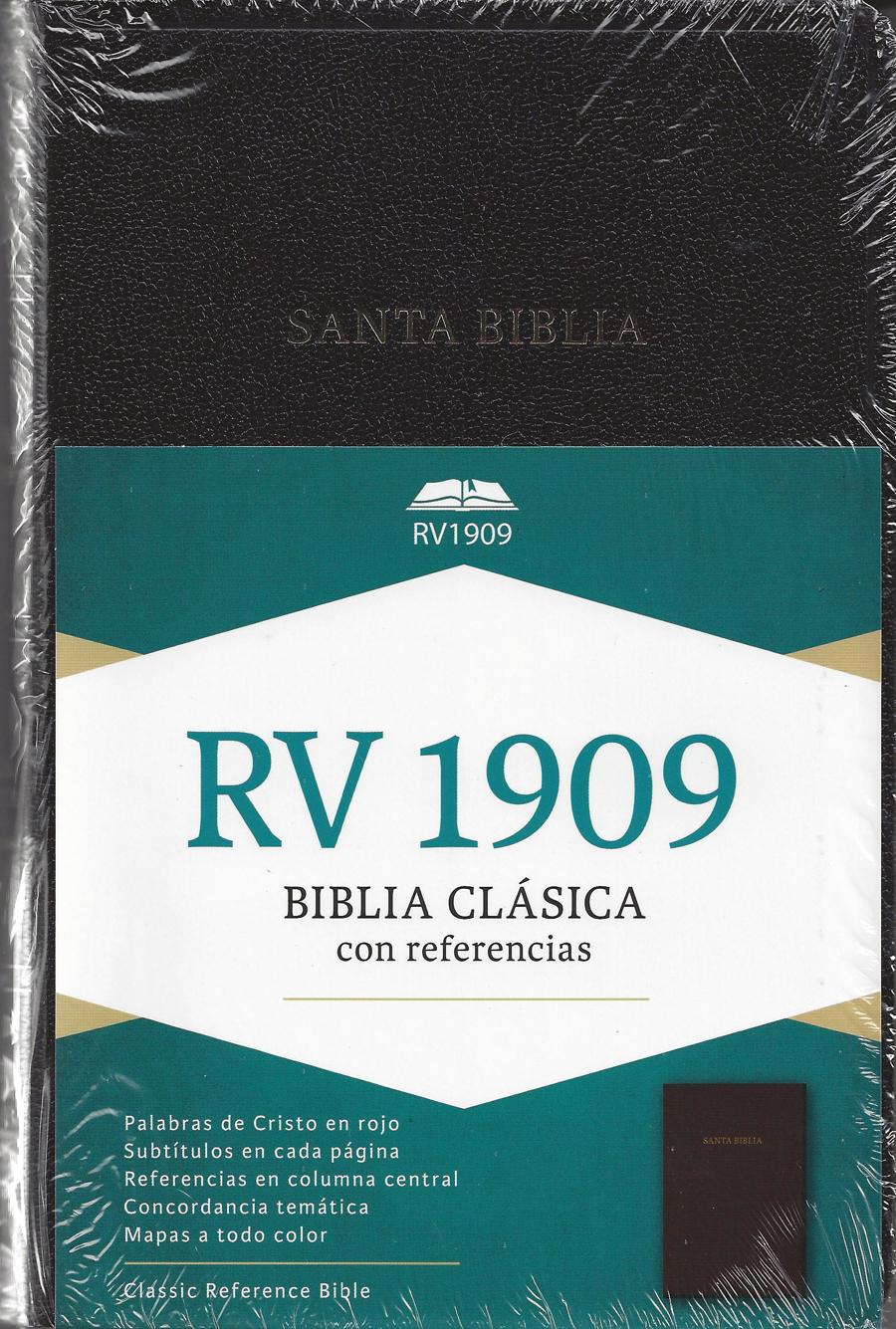 Biblia Clasica 1909 con ref.